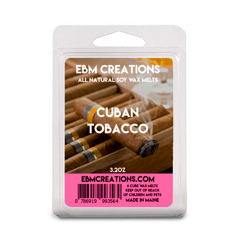 Cuban Tobacco - 3.2 oz Clamshell