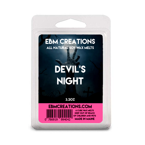 Devil's Night - 3.2 oz Clamshell
