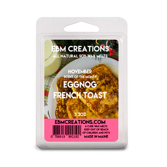 Eggnog French Toast - 3.2 oz Clamshell