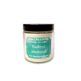 RTS - Endless Weekend - 4oz Jar Soy Candle