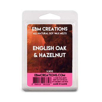 English Oak & Hazelnut - 3.2 oz Clamshell