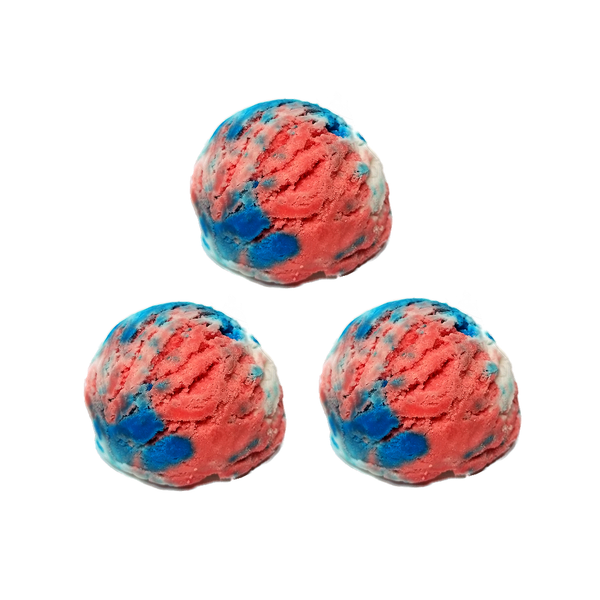RTS - 3 Pack Fire Cracker Bubble Scoops - All Natural 2oz each