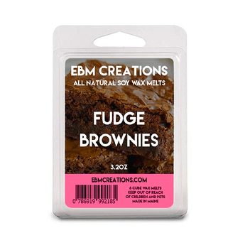 Fudge Brownies - 3.2 oz Clamshell