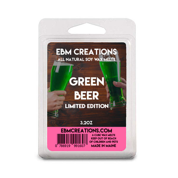 Green Beer - Limited St. Patricks Day Edition - 3.2 oz Clamshell