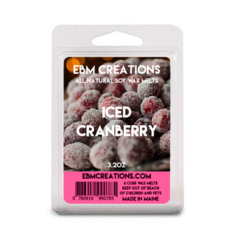 Iced Cranberry - 3.2 oz Clamshell
