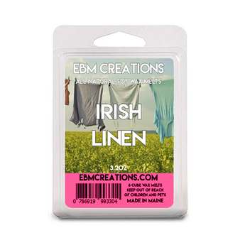 Irish Linen - 3.2 oz Clamshell