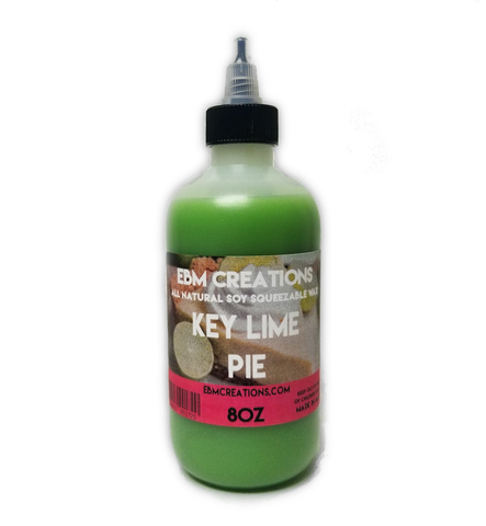 Key Lime Pie - Squeezable Wax 8oz Bottle