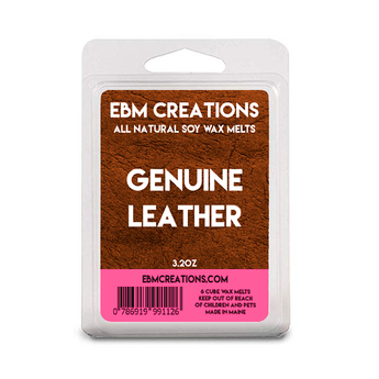 Genuine Leather - 3.2 oz Clamshell