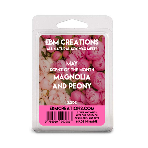 Magnolia And Peony- May SOTM - 3.2 oz Clamshell