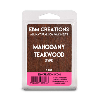 Mahogany Teakwood (Type) - 3.2 oz Clamshell
