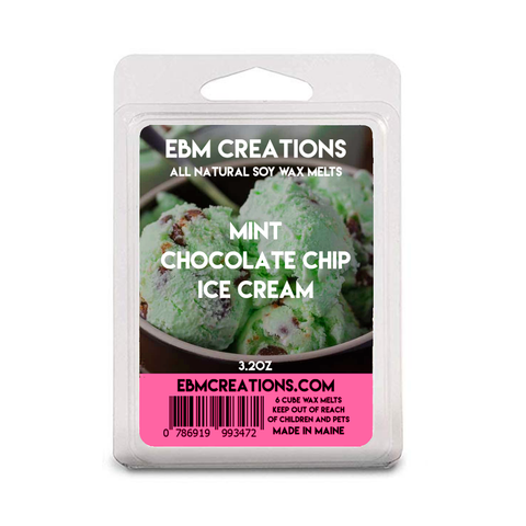 Mint Chocolate Chip Ice Cream - 3.2 oz Clamshell
