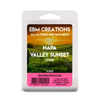Napa Valley Sunset (Type) - 3.2 oz Clamshell