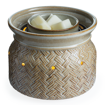 RTS - Basketweave -  Illuminaire Fan Fragrance Warmer