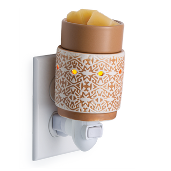 RTS - White Terracotta - Plug In Wax Warmer