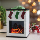 Holiday Fireplace - Ceramic Illumination Wax Warmer