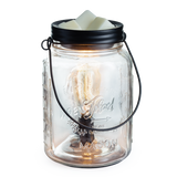 RTS - Edison Bulb Mason Jar - Illumination Wax Warmer