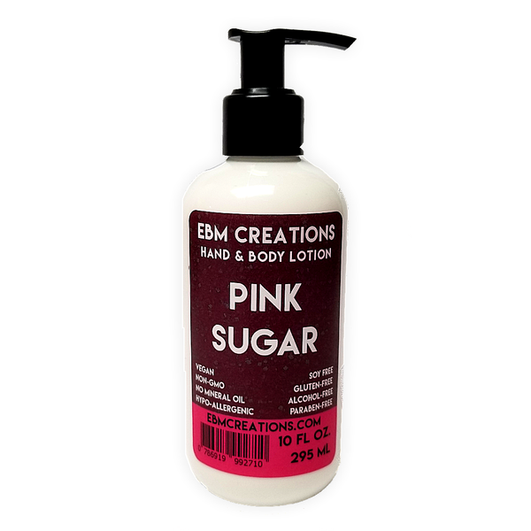Pink Sugar - 10oz All Natural Hand & Body Lotion