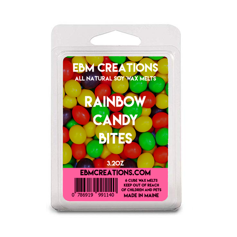 Rainbow Candy Bites - 3.2 oz Clamshell