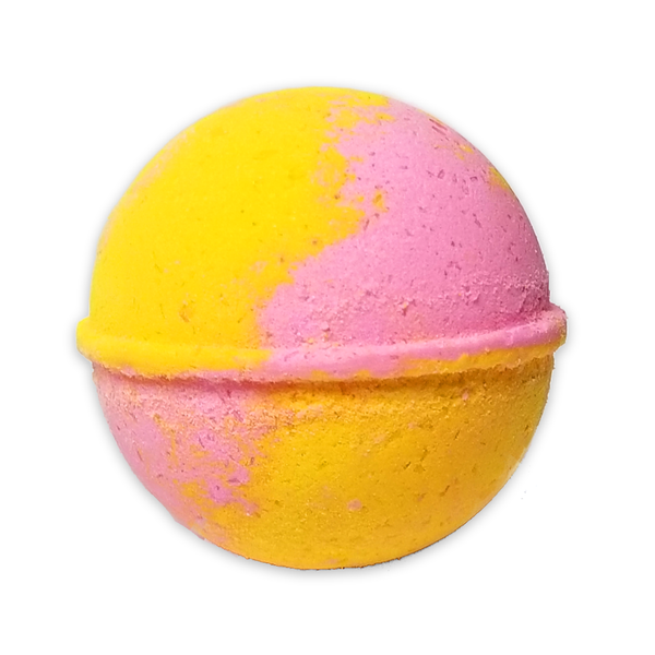 RTS - Rainbow Sherbet Bath Bomb  - All Natural 7.5oz