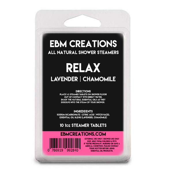 Relax - Shower Steamers 10oz