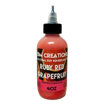 Ruby Red Grapefruit - Squeezable Wax 4oz Bottle