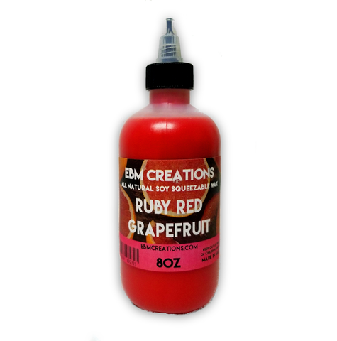 Ruby Red Grapefruit - Squeezable Wax 8oz Bottle