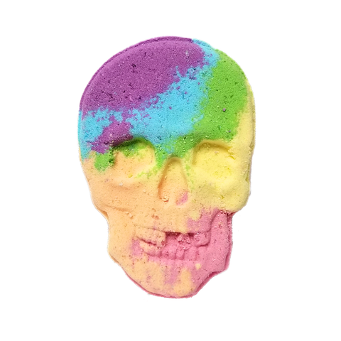 RTS - Sugar Skull Bath Bomb - All Natural 6oz