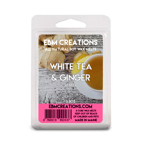 White Tea & Ginger - 3.2 oz Clamshell