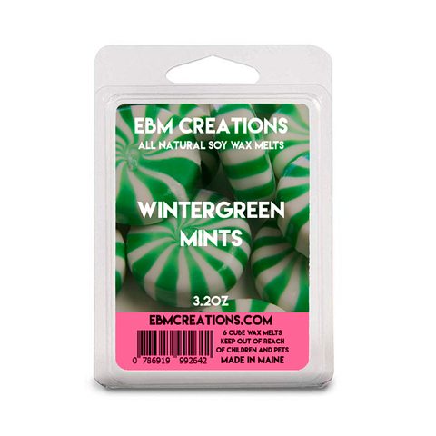 Wintergreen Mints - 3.2 oz Clamshell