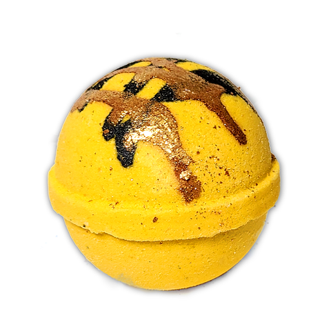 RTS - Yummy Honey Bath Bomb - All Natural 6.5oz