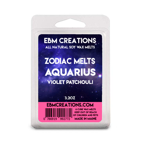 Aquarius - Violet Patchouli - 3.2 oz Clamshell
