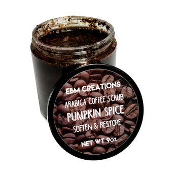 RTS - Pumpkin Spice  - 9oz Arabica Coffee Scrub