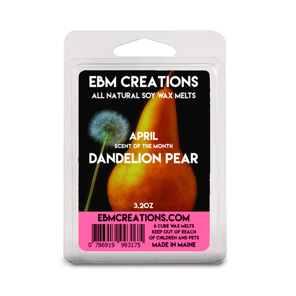 Dandelion Pear - April SOTM - 3.2 oz Clamshell