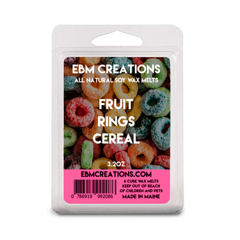 Fruit Rings Cereal - 3.2 oz Clamshell