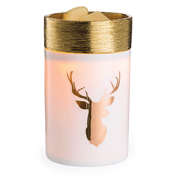 RTS - Golden Stag - Ceramic Illumination Wax Warmer