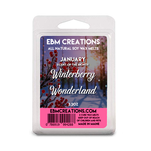 Winterberry Wonderland | January 2021 SOTM | 3.2 oz Clamshell