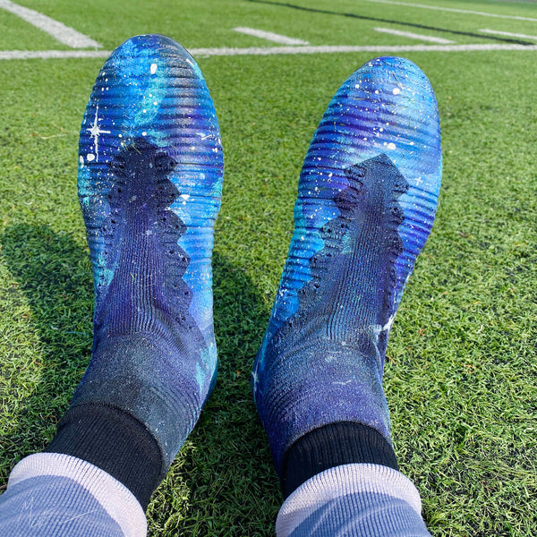 "Custom Nike Mercurial Superfly ""GALAXY"""