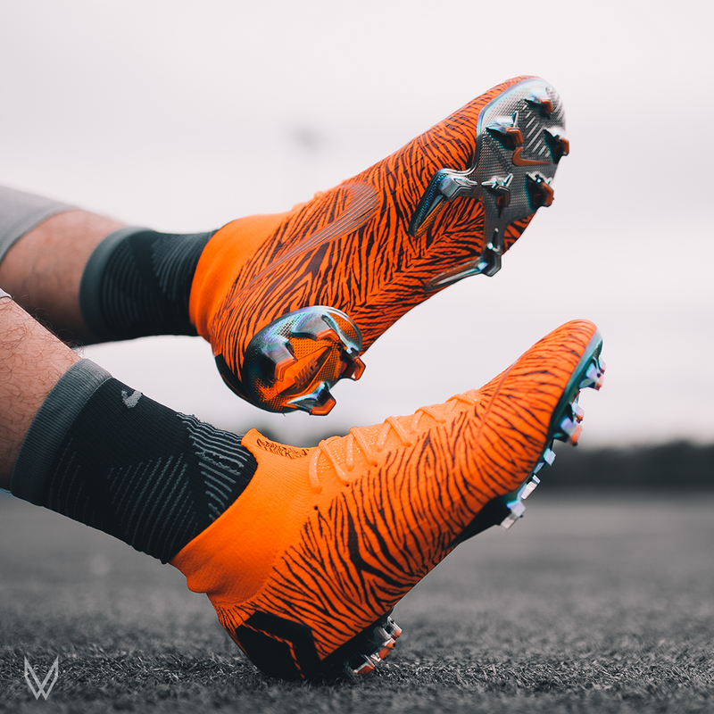 "Custom Nike Mercurial Vapor Superfly 360 ""TIGRIS"""