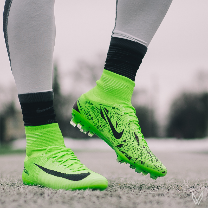 "CUSTOM  nike mercurial superfly v ""VIRUZ"""