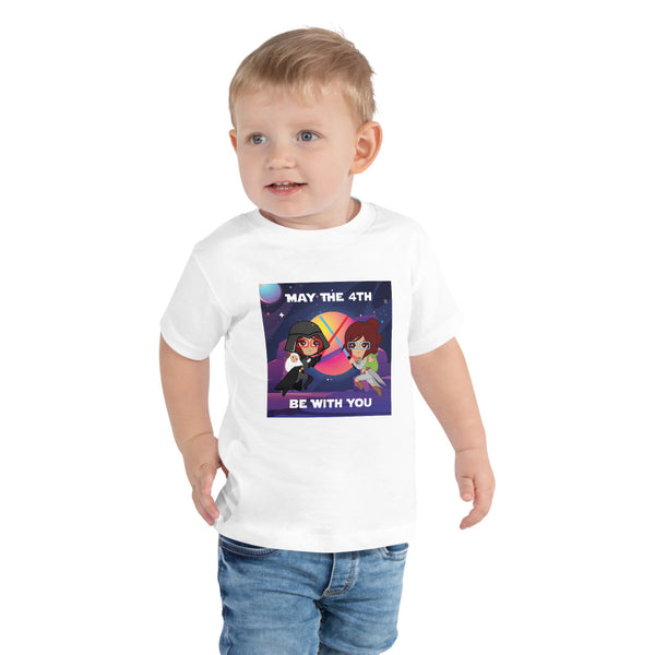 May the 4th Toddler Short Sleeve Tee