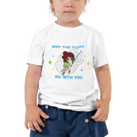 May The Fluff be With You Toddler Short Sleeve Tee