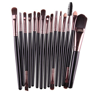 Free Shipping 15 Pieces Makeup Brushes Set?