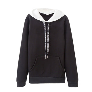 Women Long Sleeve Casual Hooded Sweatshirt