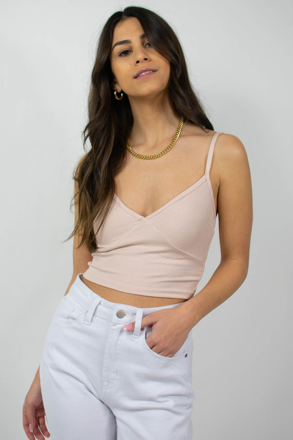 Maeve Tank in Blush