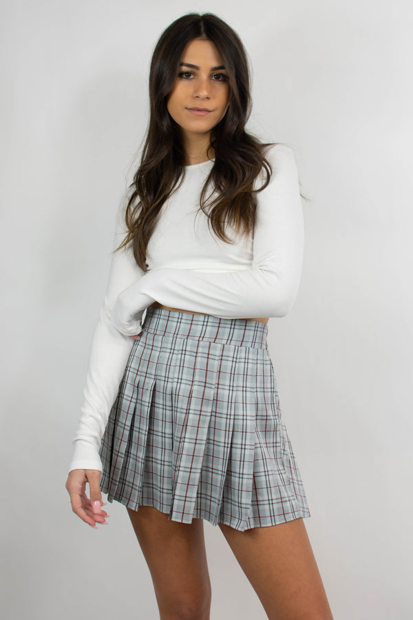 Dove Tennis Skirt