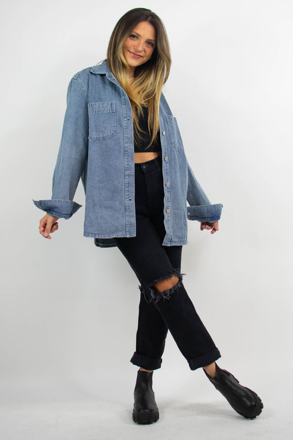 Mariah Denim Shirt