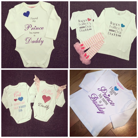 Fathers Day Tops/ Onesies