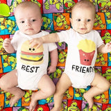 best friends burger and fries