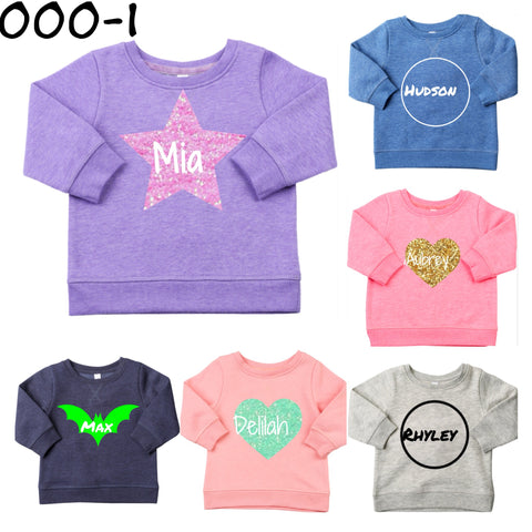 Custom name jumpers 000-1