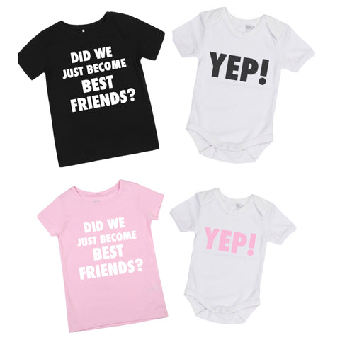 Best friends - YEP / custom onesie or shirt